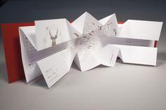 2012 Christmas Card by Cellule Design , via Behance
