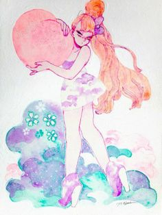 Uploaded by Maria Luiza. Find images and videos about art, kawaii and painting on We Heart It - the app to get lost in what you love. Girl Cartoon, Find Image, Kawaii, Projects, Crafts, Painting, Facebook, Cartoon Girls, Art Production