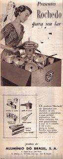"""O X da Propaganda Era assim nos anos 50, esta é uma peça nacional publicada na revista """"O Cruzeiro"""" em 1954."""