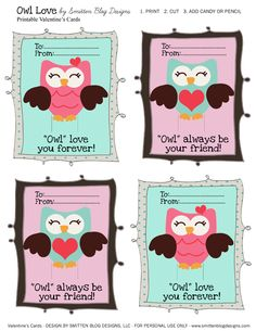 Cute Valentines for my students