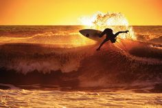 How I got the shot: Capturing an epic sunset surfing photo  - Sport and fine art photographer Marco Petracci explains how he captured this striking shot of one of his friends surfing off the Tuscany coast at sunset.