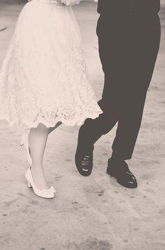 1940s-inspired details. #wedding #dress
