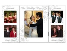Wedding gift: Malden Wedding Storyboard Frame with 5-Openings, 1- 5 by 7-Inch and 4- 3 by 3-Inch