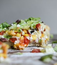 blt pizza with grilled corn crumbled feta blt chopped salad pizza 4 ...