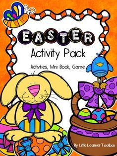 Easter Activity Pack full of math, language, fun & a game!