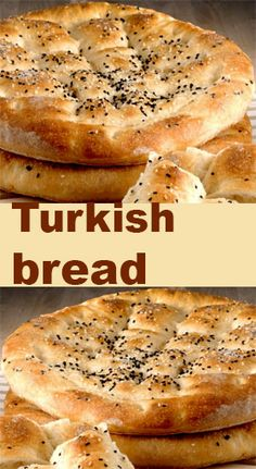 No-knead Turkish bread - Art eat bread - Cuisine Turkish Flat Bread, Bread Recipes, Cooking Recipes, Bread Shaping, Bread Art, Middle Eastern Recipes, Middle Eastern Bread, Bread And Pastries, Easy Bread