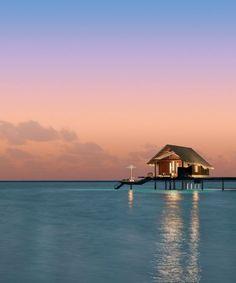 Reethi Rah Resort, Maldives. We'll leave the light on for you.