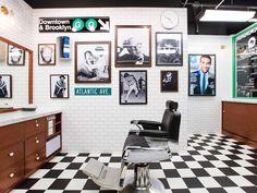 GQ and Fellow Barber Barbershop , Brooklyn - New York #storedesign #brooklyn #newyork