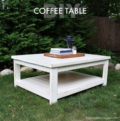 A beautifully simple coffee table to share with you today including the free plans to build your own.   I'm working with a team of bloggers on a Habitat for Humanity project whereby we are furnishing an entire home in Connecticut for a nice little family.  This coffee table will go in their living room... Read more