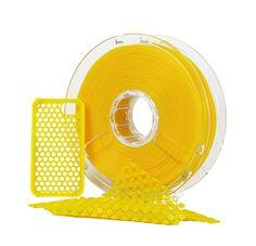 3D Printing Material: PolyFlex,Yellow
