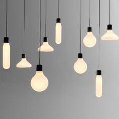 O conjunto de lâmpadas