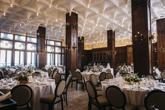 Chicago Athletic Association Hotel Wedding in White City Ballroom - Photo by Erin Hoyt Photography