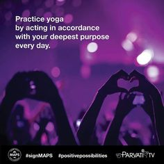 From a yogic perspective to care for someone else is to care for yourself. This is also true for the care of all living things including our planet Earth. As we evolve we come to see that we are literally the world the very same stuff of which all matter is made and the life-force that sustains it. For this reason caring for the Earth is an essential part of being alive and sharing gratitude for the opportunity we have while here to love learn and evolve.  As yogis we understand that what…