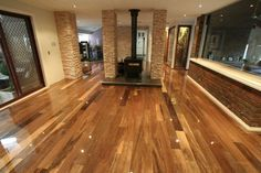 Timber Floor: NSW Spotted Gum (Source: GALLERY - Profile Timber Floors)
