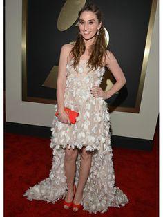 #Look Sara Bareilles #Grammys #idemtiko #pinterest!