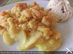 Apple Crumble, ein raffiniertes Rezept aus der Kategorie Dessert. Bewertungen: 349. Durchschnitt: Ø 4,6.