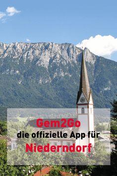 Alle Infos zu Niederndorf auch unterwegs abrufen mit Gem2Go - der größten Gemeinde Info und Service App Österreichs! App, Mount Everest, Mountains, Nature, Travel, Communities Unit, City, Naturaleza, Viajes