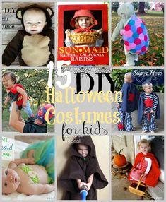 15 DIY Kids Halloween Costumes - Happy Hour Projects