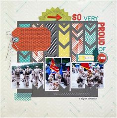 #papercraft #scrapbook #layout    Christa from Cocoa Daisy