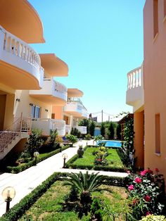 Find lowest rates at Golden Rose Suites Agia Marina Beach, Crete, Greek Islands, Tourism, Mansions, House Styles, Places, Hotels, Turismo