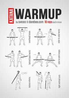 Katana Warmup Workout