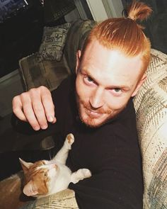 Ginger Men, Ginger Cats, Best Bud, Netflix And Chill, Man Bun, Freckles, Instagram, People, Style