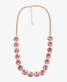 Octagon Charms Necklace | FOREVER21 - 1021840029