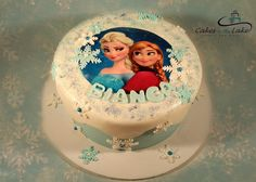 FROZEN CAKE  There was one cake I didn't get a chance to post from last week, and of course it was this beautiful Frozen cake. Happy Birthday Bianca!  www.cakesbythelake.com.au