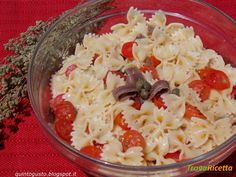 Pasta fredda alla marinara  #ricette #food #recipes
