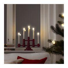 STRÅLA LED 5-arm candelabra  - IKEA