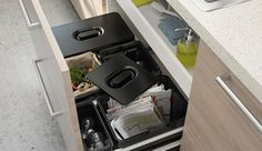 Kleinmöbel & Accessoires Büro & Schreibwaren Humor Haushaltsauflösung Küchenteile Papierkorb Büroeinrichtung