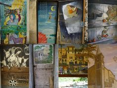 painted doors of valloria - Google Search