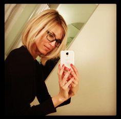 kristen taekman images | The Long-Bob Hair Style of Kristin Taekman