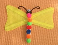 Make a Craft Stick Dragonfly