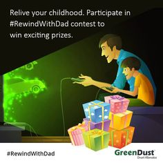 RewindWithDad contest, chance to win exiting prize   http://www.contestnews.in/rewindwithdad-contest-chance-win-exciting-prizes/