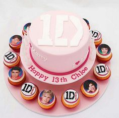 All I want for my Birthday... a One direction Cake! Please and Thank you!
