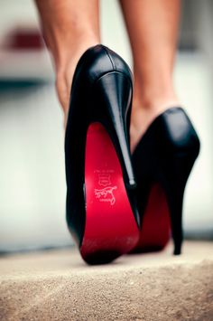 one day I will be owning and walking down the street in my very own Christian Louboutin shoes.