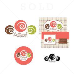 Lolliposh Cake Pops | Cupcake logo designs