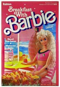 Kristen gave me and C this Barbie in 1989 for our bdays