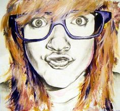 How to create interesting portraits......student art guide