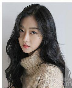 2016韩式长发烫发发型,2016韩国长发烫发发型,韩系长发微卷发型图片 (3) - 七丽女性网