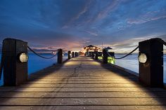 Aruba Sunset - Palm Beach Coast Hyatt Regency by DiGitALGoLD, via Flickr