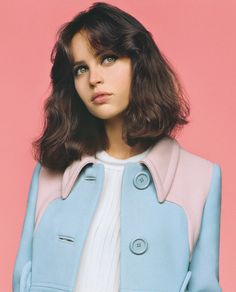 Felicity Jones - Vogue UK - February 2014