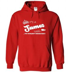 Its a James Thing, You Wouldnt Understand !! Name, Hood - #black tee #tshirt typography. BEST BUY => https://www.sunfrog.com/Names/Its-a-James-Thing-You-Wouldnt-Understand-Name-Hoodie-t-shirt-hoodies-7999-Red-29553187-Hoodie.html?68278