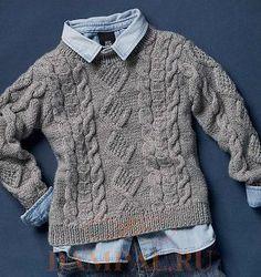 Knitting Sweter For Men Free Pattern Baby Boy 50 Ideas Pull Bebe, Poncho Knitting Patterns, Rico Design, Single Crochet Stitch, Boys Sweaters, Kids Fashion Boy, Knitting For Kids, Baby Patterns, Free Pattern