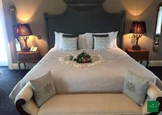 Love is in the air in our bridal suite! Quiet Storm, Small Intimate Wedding, Bridal Suite, Wedding Bouquets, Bed, House, Furniture, Pink, Home Decor
