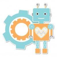 Robot party printables