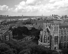 Black and white architectural photography: Harlem, NY