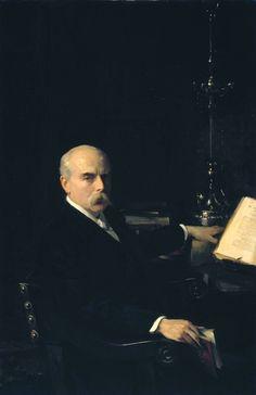'Professor Ingram Bywater' exhibited 1901 by John Singer Sargent (1856-1925)