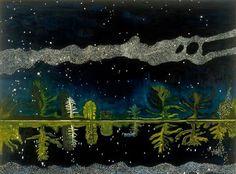 Peter Doig - Milky Way - oil on canvas - 152x203,5 cm - 1989-90 - Artist's Collection - @Blog Studio International